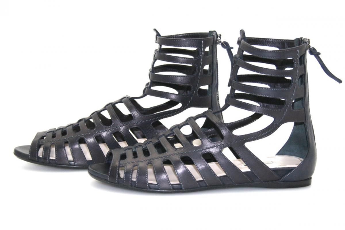 authentic miu miu sandals shoes 5x7513 black nappa new 37 37 5 uk 4 ebay. Black Bedroom Furniture Sets. Home Design Ideas