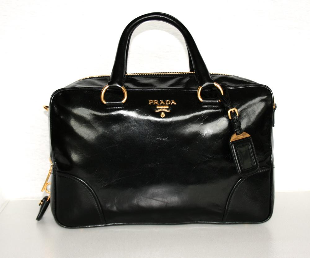 prada handbag bag purse handbag bag new new bl0816 nero. Black Bedroom Furniture Sets. Home Design Ideas