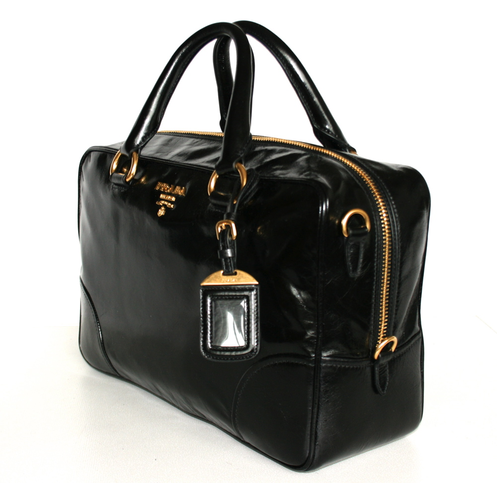 prada handbag bag purse handbag bag new new bl0816 nero. Black Bedroom Furniture Sets. Home Design Ideas