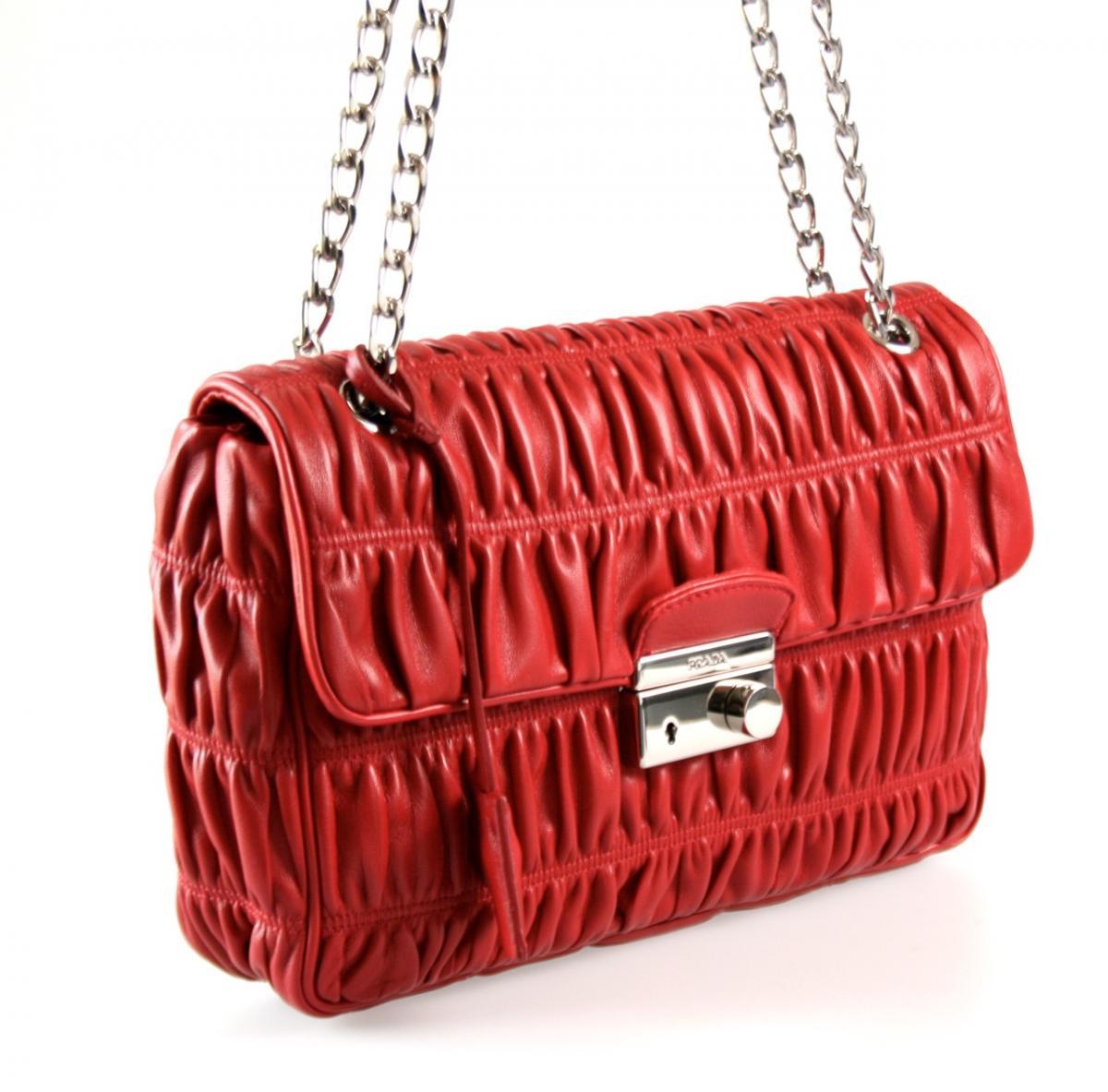luxus prada abend tasche handtasche bt0939 rot aktuelle. Black Bedroom Furniture Sets. Home Design Ideas